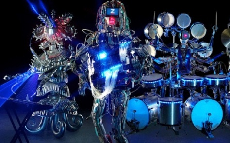 SquarePusher Creates Robotic Symphony